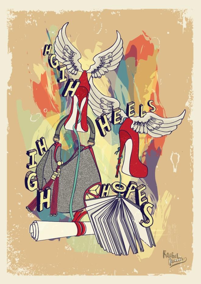 iluustrated poster design